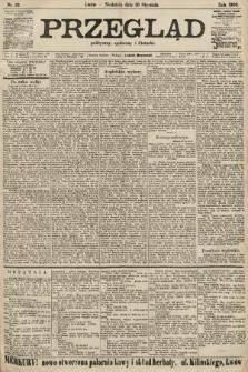 Przegląd polityczny, społeczny i literacki. 1906, nr22