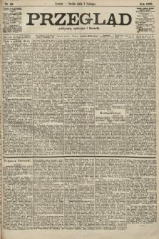 Przegląd polityczny, społeczny i literacki. 1906, nr29
