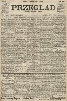 Przegląd polityczny, społeczny i literacki. 1906, nr36