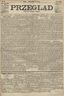 Przegląd polityczny, społeczny i literacki. 1906, nr38
