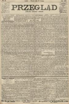 Przegląd polityczny, społeczny i literacki. 1906, nr40