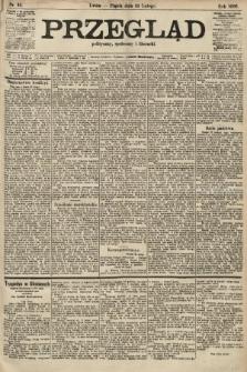 Przegląd polityczny, społeczny i literacki. 1906, nr43