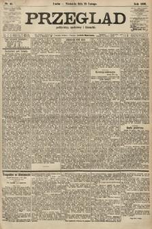 Przegląd polityczny, społeczny i literacki. 1906, nr45