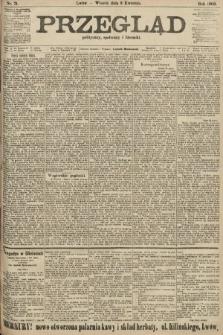Przegląd polityczny, społeczny i literacki. 1906, nr71
