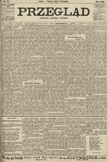 Przegląd polityczny, społeczny i literacki. 1906, nr75