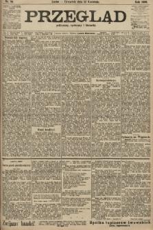 Przegląd polityczny, społeczny i literacki. 1906, nr79