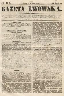 Gazeta Lwowska. 1855, nr276