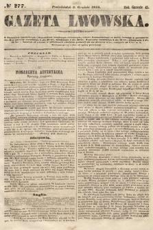 Gazeta Lwowska. 1855, nr277