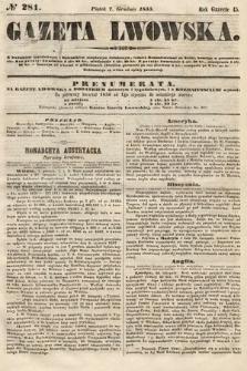 Gazeta Lwowska. 1855, nr281