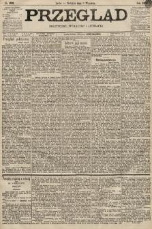 Przegląd polityczny, społeczny i literacki. 1896, nr206