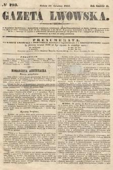 Gazeta Lwowska. 1855, nr293