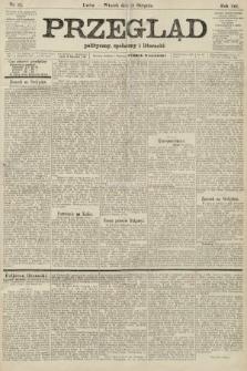 Przegląd polityczny, społeczny i literacki. 1906, nr191