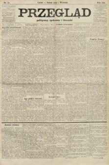 Przegląd polityczny, społeczny i literacki. 1906, nr195