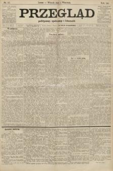 Przegląd polityczny, społeczny i literacki. 1906, nr197