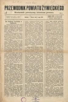 Przewodnik Powiatu Żywieckiego : miesięcznik poświęcony interesom powiatu. R.2, 1901, nr1