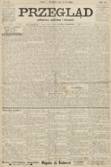 Przegląd polityczny, społeczny i literacki. 1906, nr292