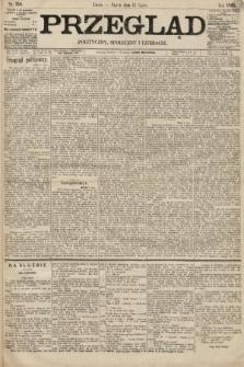 Przegląd polityczny, społeczny i literacki. 1895, nr158
