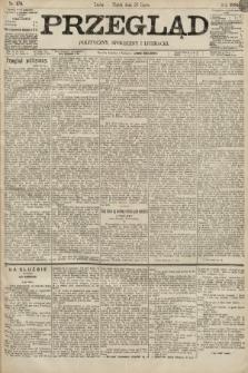 Przegląd polityczny, społeczny i literacki. 1895, nr170