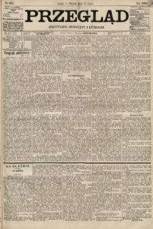 Przegląd polityczny, społeczny i literacki. 1895, nr173