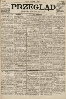 Przegląd polityczny, społeczny i literacki. 1895, nr177