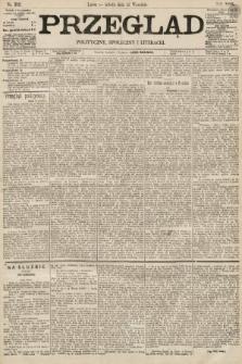 Przegląd polityczny, społeczny i literacki. 1895, nr212