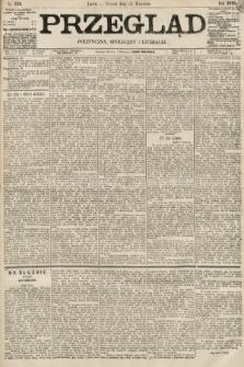 Przegląd polityczny, społeczny i literacki. 1895, nr220