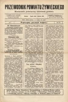 Przewodnik Powiatu Żywieckiego : miesięcznik poświęcony interesom powiatu. R.3, 1902, nr7