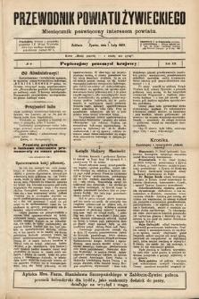 Przewodnik Powiatu Żywieckiego : miesięcznik poświęcony interesom powiatu. R.3, 1903, nr9