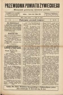 Przewodnik Powiatu Żywieckiego : miesięcznik poświęcony interesom powiatu. R.3, 1903, nr10