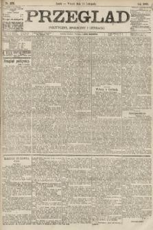Przegląd polityczny, społeczny i literacki. 1895, nr273
