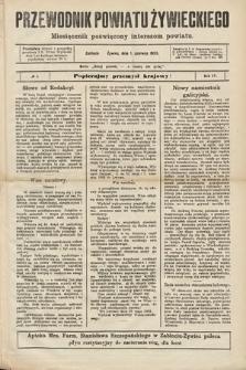 Przewodnik Powiatu Żywieckiego : miesięcznik poświęcony interesom powiatu. R.4, 1903, nr1