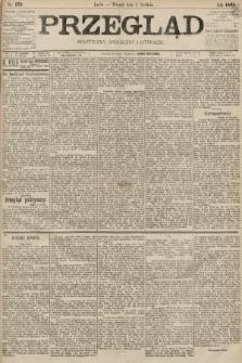 Przegląd polityczny, społeczny i literacki. 1895, nr279