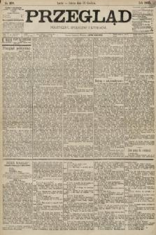 Przegląd polityczny, społeczny i literacki. 1895, nr299