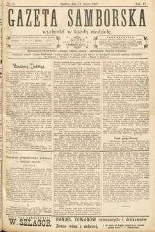 Gazeta Samborska. 1906, nr11
