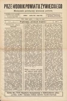 Przewodnik Powiatu Żywieckiego : miesięcznik poświęcony interesom powiatu. R.5, 1905, nr9
