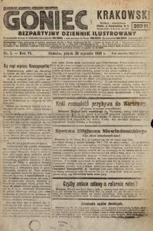 Goniec Krakowski : bezpartyjny dziennik popularny. 1923, nr1