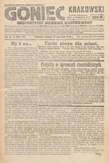 Goniec Krakowski : bezpartyjny dziennik popularny. 1923, nr2