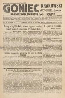 Goniec Krakowski : bezpartyjny dziennik popularny. 1923, nr5