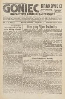 Goniec Krakowski : bezpartyjny dziennik popularny. 1923, nr7