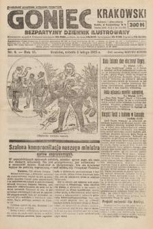 Goniec Krakowski : bezpartyjny dziennik popularny. 1923, nr9