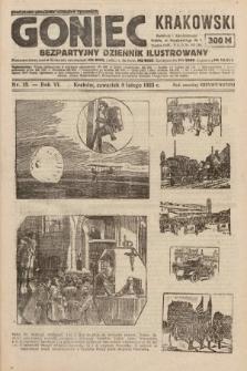 Goniec Krakowski : bezpartyjny dziennik popularny. 1923, nr13