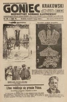 Goniec Krakowski : bezpartyjny dziennik popularny. 1923, nr26