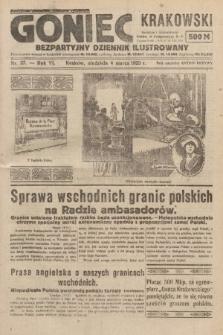 Goniec Krakowski : bezpartyjny dziennik popularny. 1923, nr37