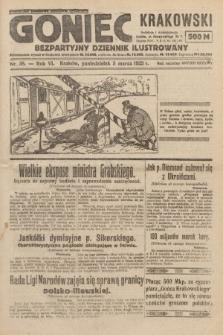 Goniec Krakowski : bezpartyjny dziennik popularny. 1923, nr38