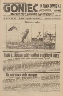 Goniec Krakowski : bezpartyjny dziennik popularny. 1923, nr41