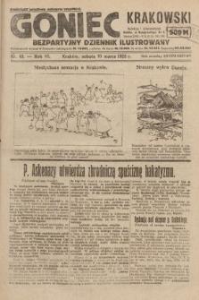 Goniec Krakowski : bezpartyjny dziennik popularny. 1923, nr43