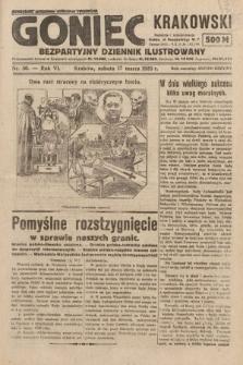 Goniec Krakowski : bezpartyjny dziennik popularny. 1923, nr50