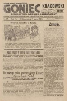 Goniec Krakowski : bezpartyjny dziennik popularny. 1923, nr57