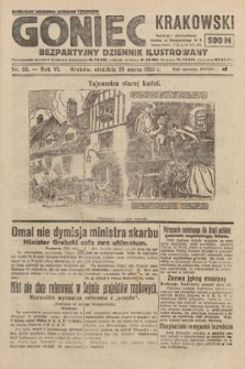 Goniec Krakowski : bezpartyjny dziennik popularny. 1923, nr58