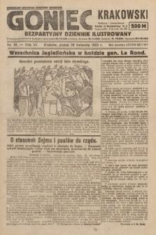 Goniec Krakowski : bezpartyjny dziennik popularny. 1923, nr81